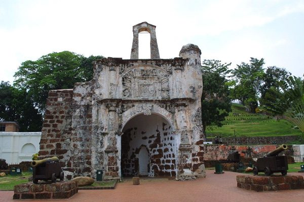 Historical buildings in Malacca